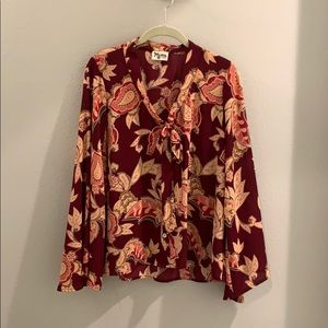 Show Me Your Mumu bell sleeve blouse